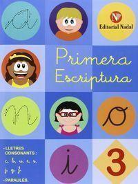 PRIMERA ESCRIPTURA 3 LLIGADA
