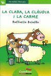 PRIMERES PÀGINES 12: LA CLARA, LA CLÀUDIA I LA CARME (LLETRA DE PAL)
