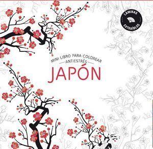 JAPON. MINILIBRO COLOREAR ANTIESTRES