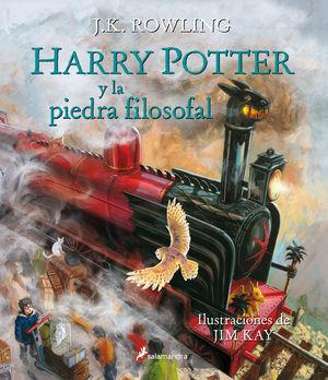 HARRY POTTER 1: Y LA PIEDRA FILOSOFAL EDICIÓN ILUSTRADA