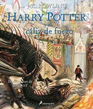 HARRY POTTER ILUSTRADO 4: Y EL CÁLIZ DE FUEGO