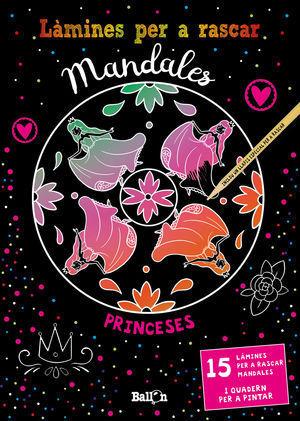 LÀMINES PER A RASCAR MANDALES: PRINCESES