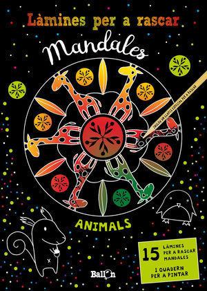 LÀMINES PER A RASCAR MANDALES: ANIMALS