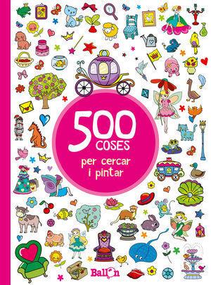 500 COSES PER CERCAR I PINTAR - VERMELL