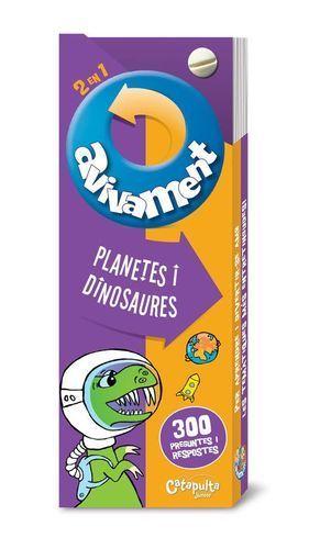 AVIVAMENT 2  EN 1: PLANETES I DINOSAURES